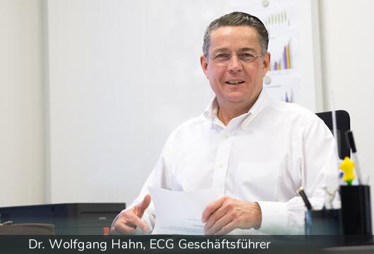 Geschäftsführer Dr. Wolfgang Hahn